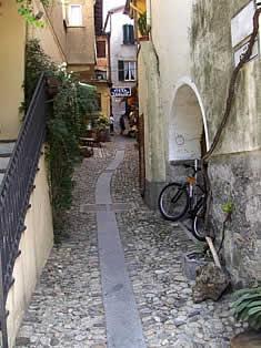 Stresa streets - lake Maggiore, Italy