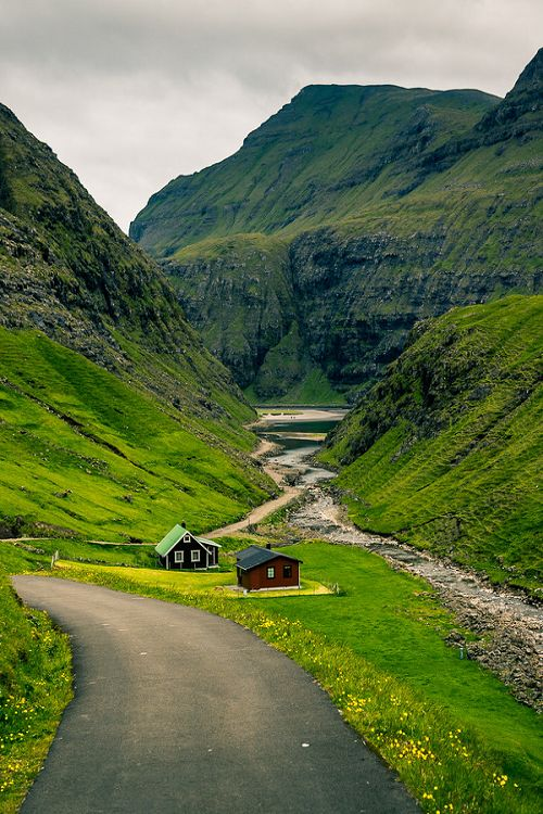 Valley Home, The Faroe Islands photo via nord