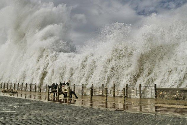 Water Wall – San Sebastián, Spain
