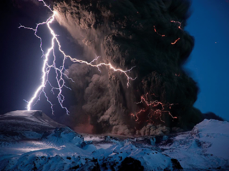 More volcano weather via National Geographic