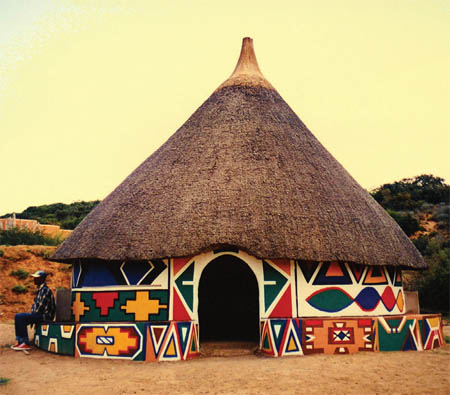 Ndebele House, South Africa
