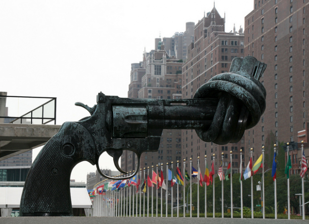 The Knotted Gun, United Nations Headquarters, New York, USA