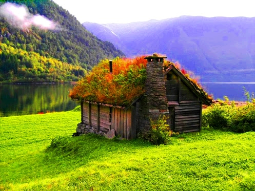 Cottage, Norway