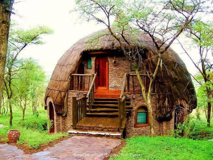Dome Rondavels ~ Serengeti National Park, Tanzania, Africa.