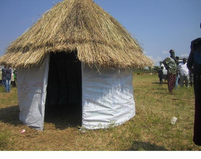 Traditional house in Fugnido, Ethiopia