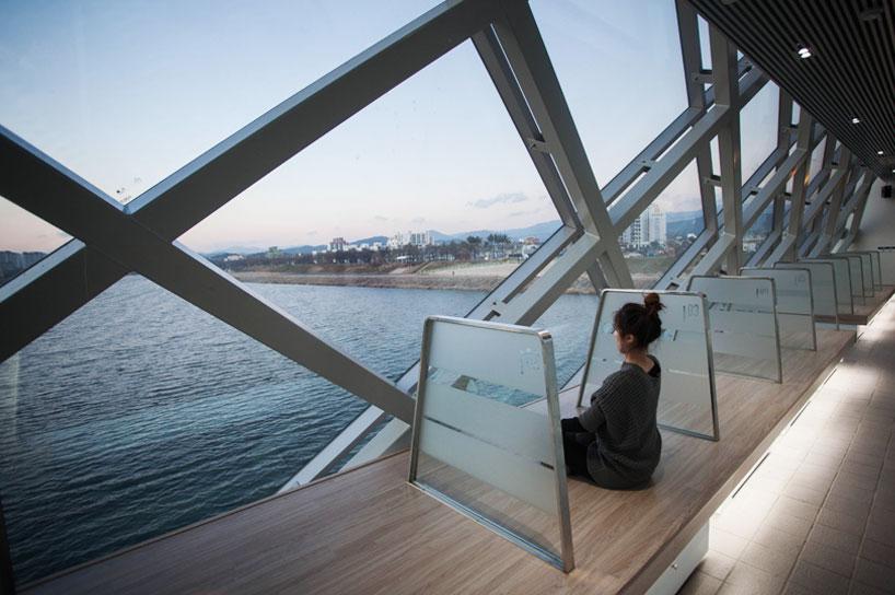 Meditation center on the bridge.