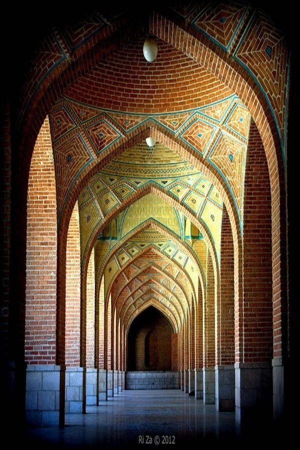 The Blue Mosque, Tabriz. Iran