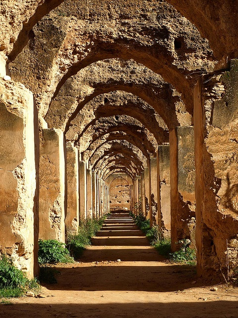 The Royal stables, Meknes, Morocco