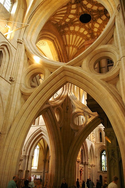 Wells Cathedral  by Matt Wiebe on flickr