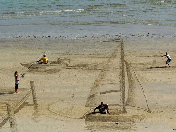 3-d sand