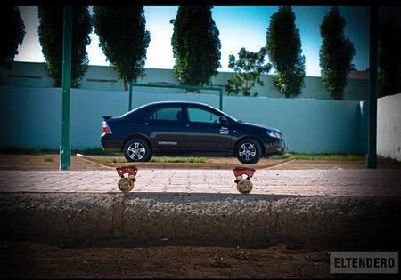 opticl, car