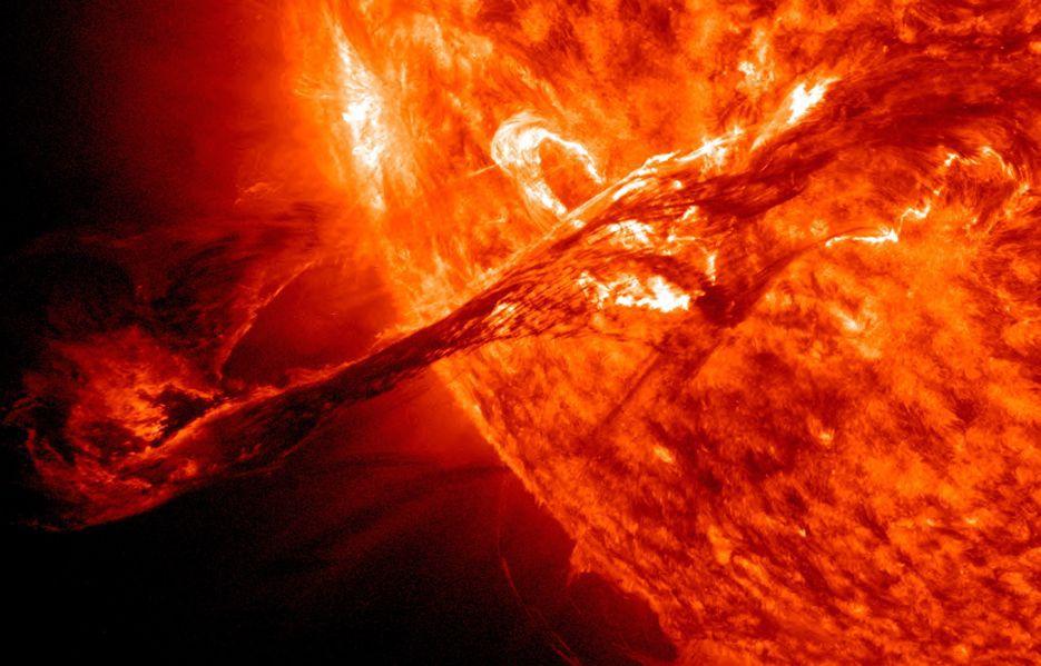Solar flare, NASA
