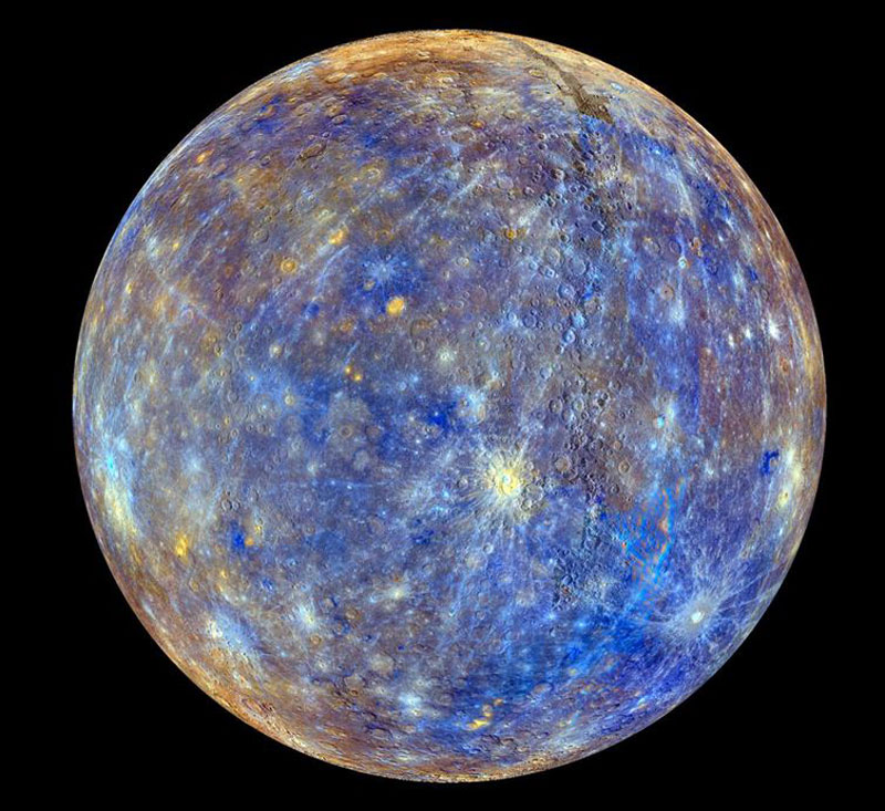 The clearest photo of Mercury ever taken.
