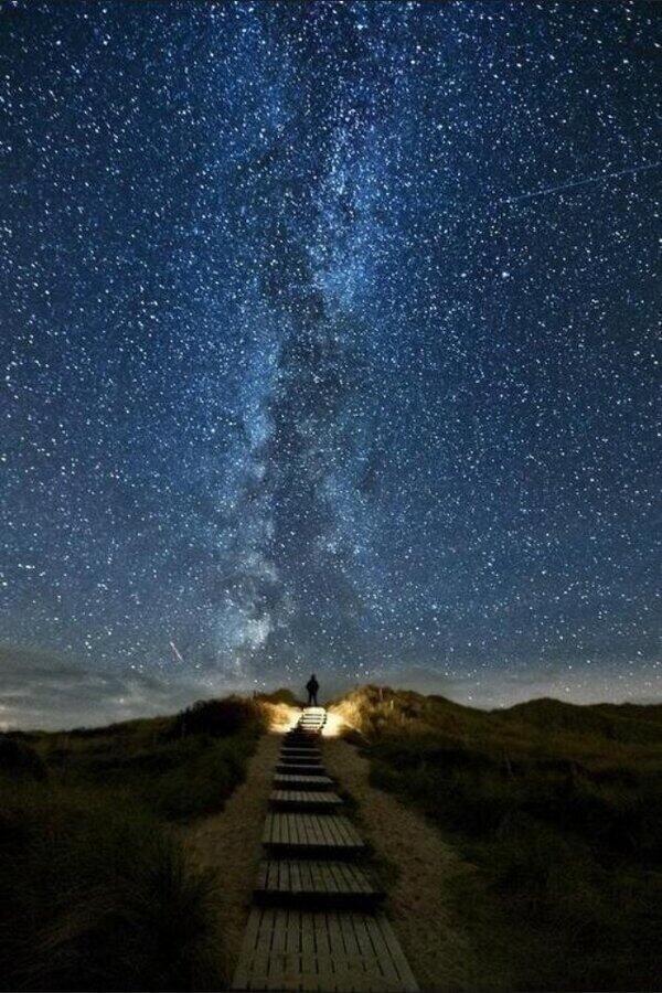 A spectacular night in Ireland.