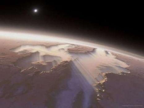 Another Mars sunrise.