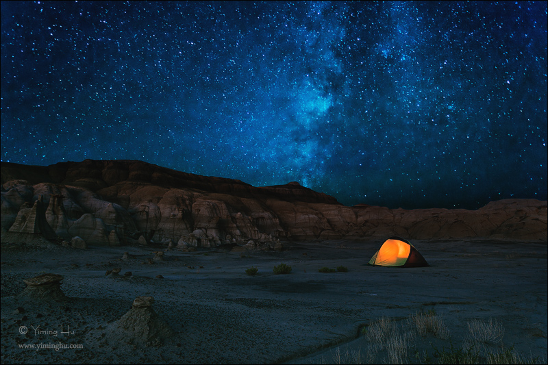Stars from New Mexico, US, captured by yiminghuphoto.com