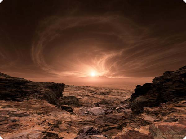 More Mars sunrise from NASA