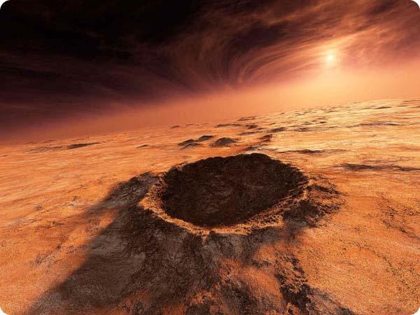 Mars sunrise via NASA