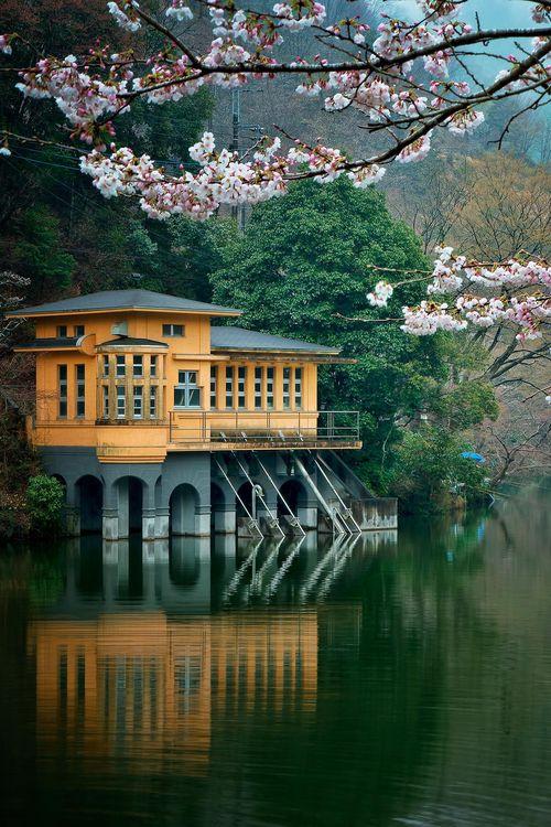 Lake House, Saitama, Japan photo