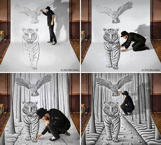human ingen, tiger