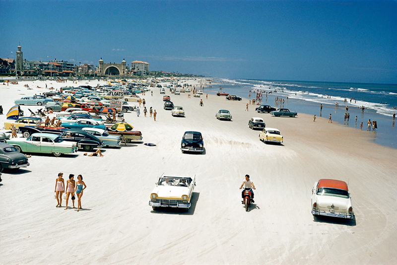 Daytona Beach Florida, 1957.  Ooops!  Missed you chance to go here.