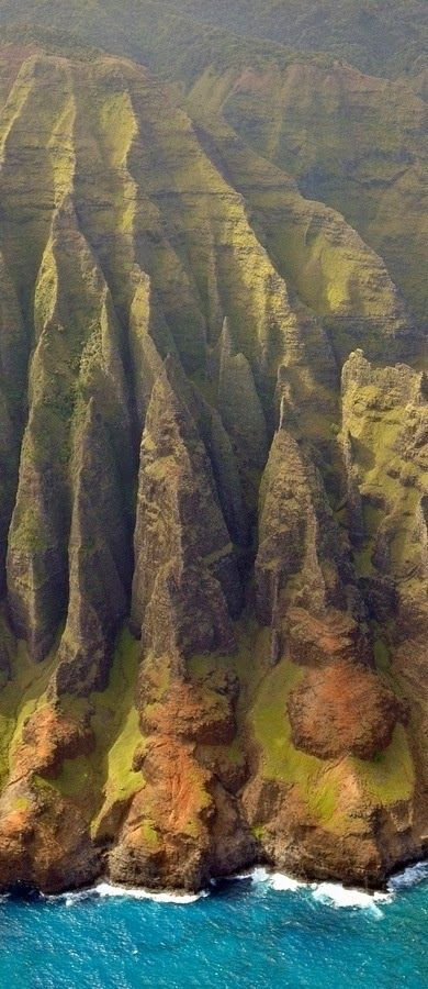 Nā Pali Coast - Kauai, Hawaii