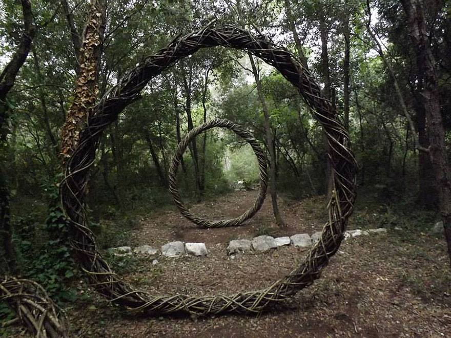 woods sculptures