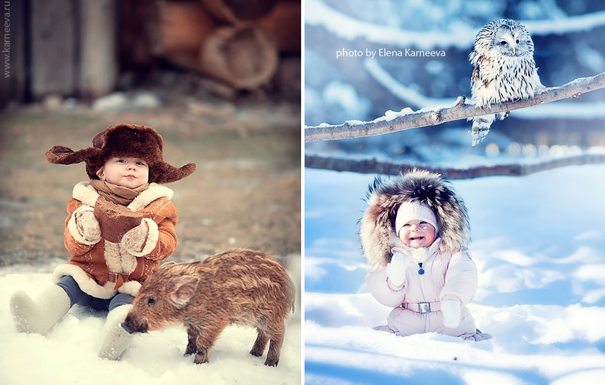 kids and an, animal-children-photography-elena-karneeva-72__880