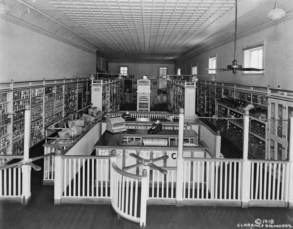 The first self service grocery store, Piggly Wiggly opened in Memphis, Tennessee in 1916.