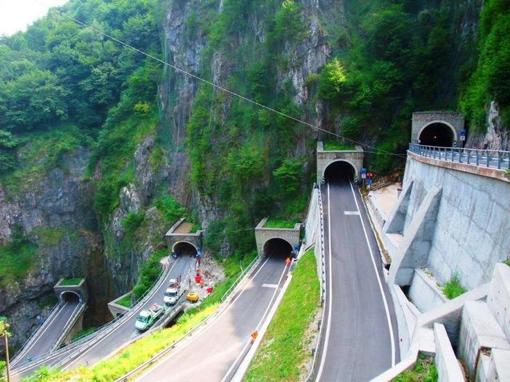 Mountain Tunnels, San Boldo Pass, Italy