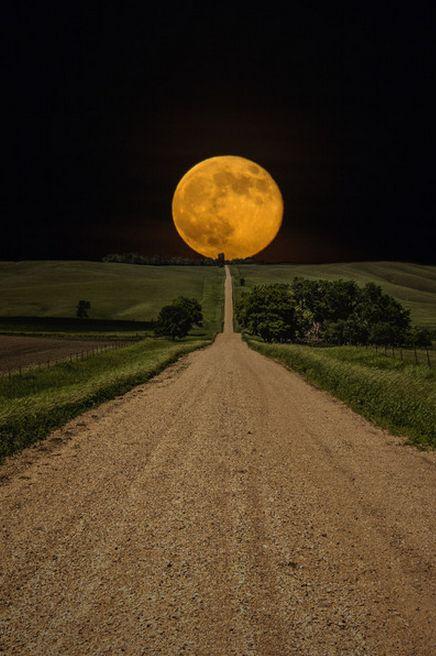roads, moon