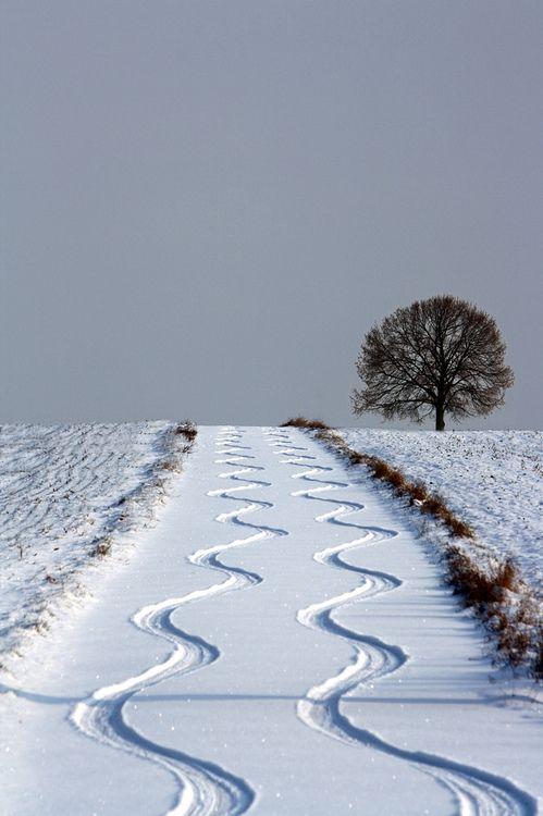 roads, snow