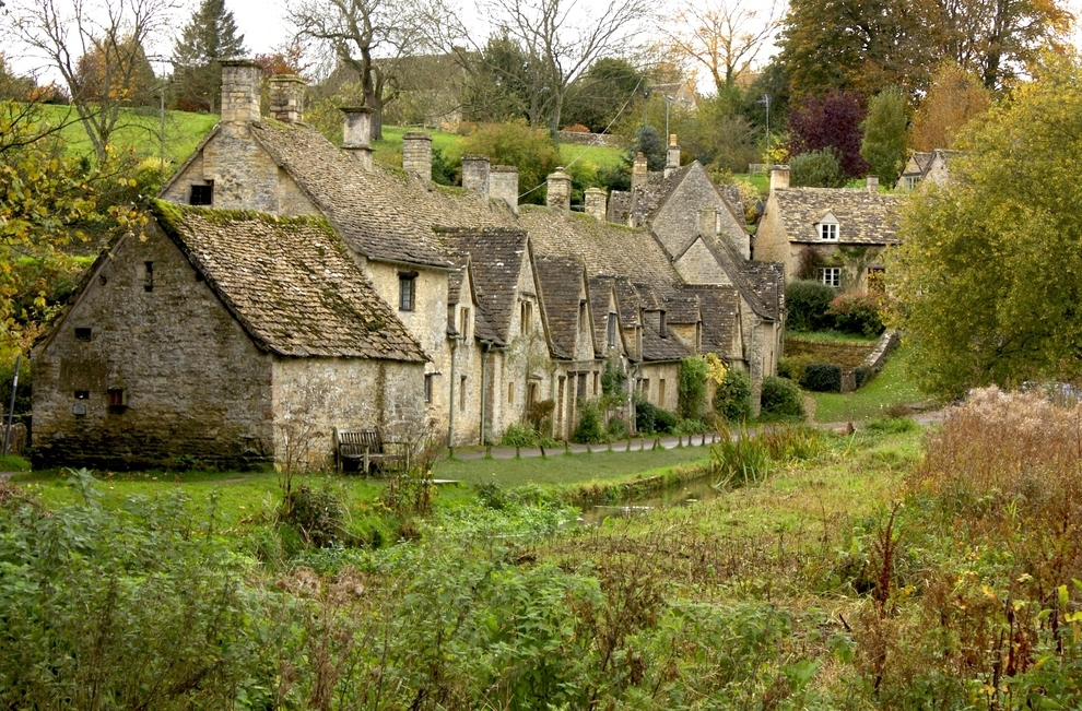 Bibury, England, by lukema on flickr