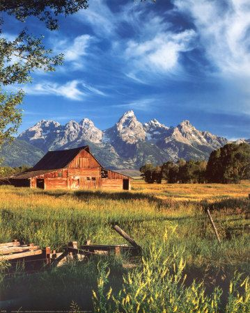 Grand Tetons, Wyoming, USA