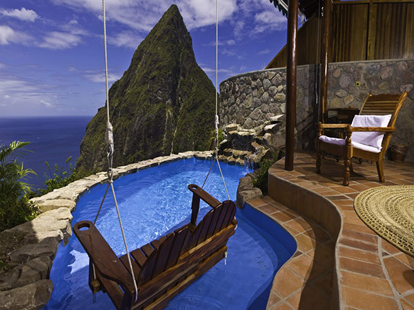 St. Lucia in the Carribean