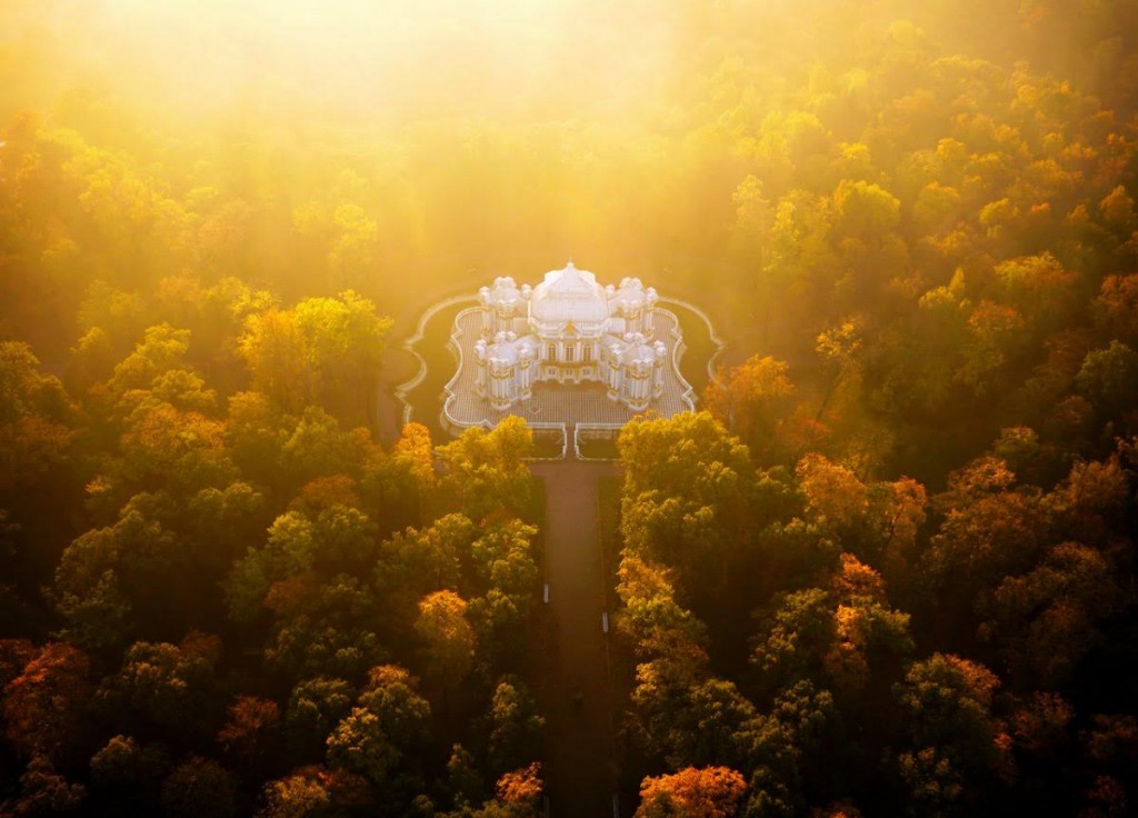 Hermitage Pavilion near Saint Petersburg, Russia