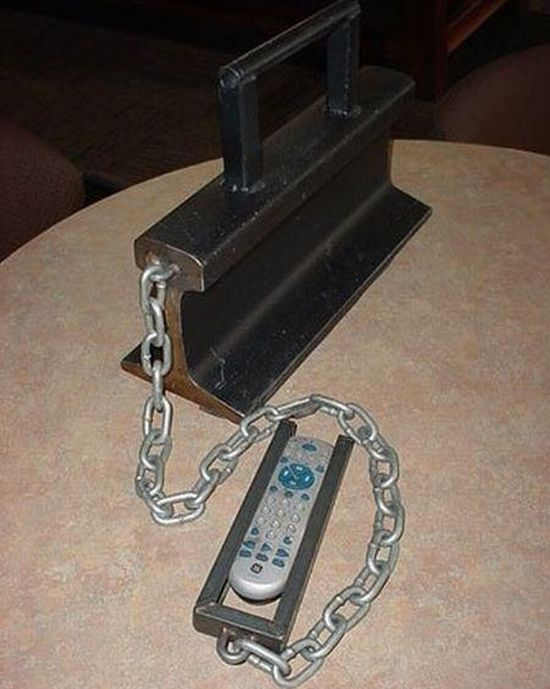 How not to lose your remote.