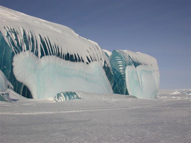nature, icebergs 2, mer