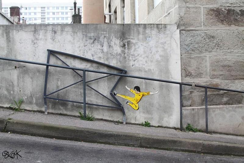 street art via Jen C