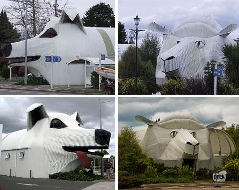 The Sheep Building & Sheepdog Building, Waikato, New Zealand
