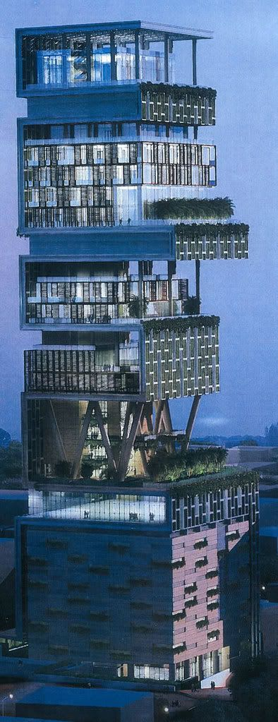 The most expensive house in the world.