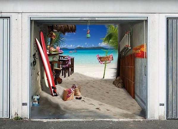 human ingen, door, beach