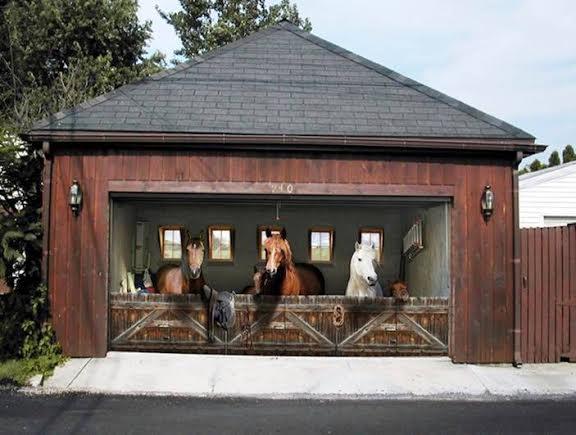 human ingen, doors horses