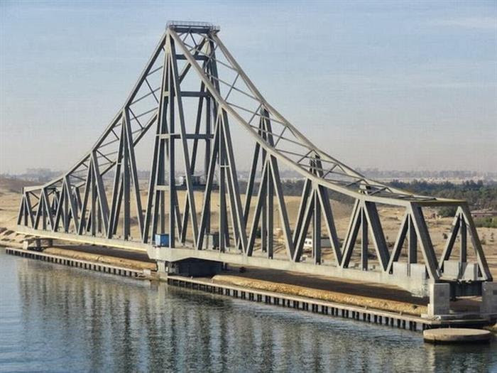bridge, El Ferdan Railway Bridge, Egypt 3