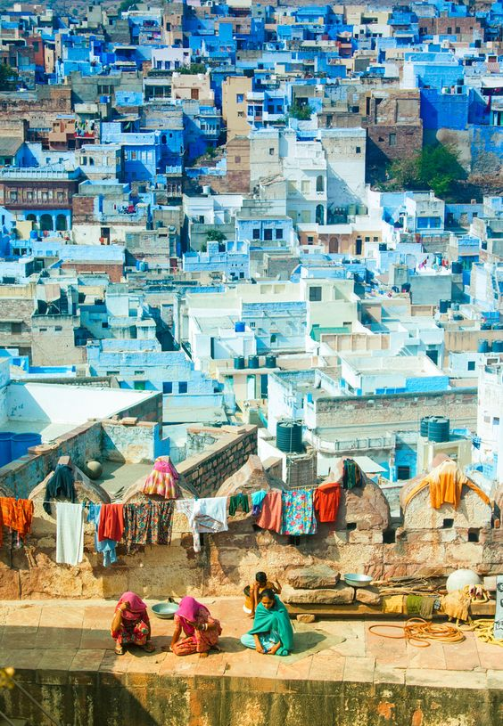 Jodhpur, The Blue City or The Sun City, India