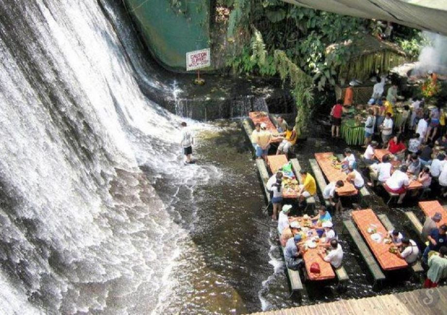 Labassin Waterfall Restaurant - Philippines