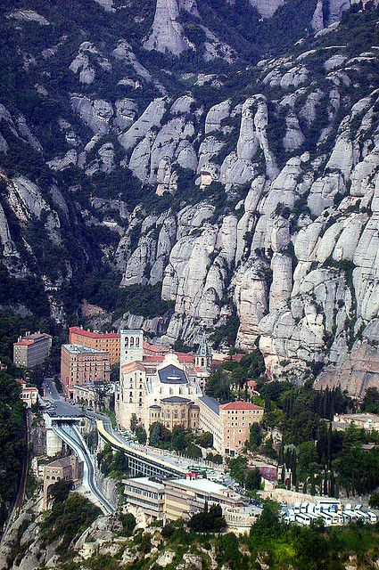 Monistrol de Montserrat, Catalonia, Spain by Jordi Brió on flickr