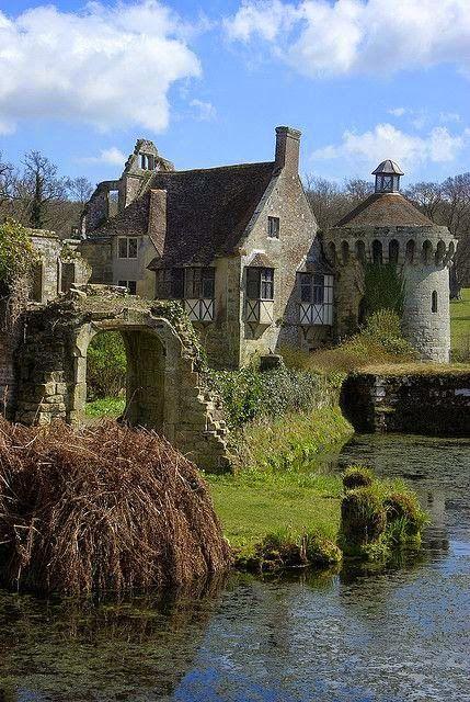 Scotney Castle, Kent, UK