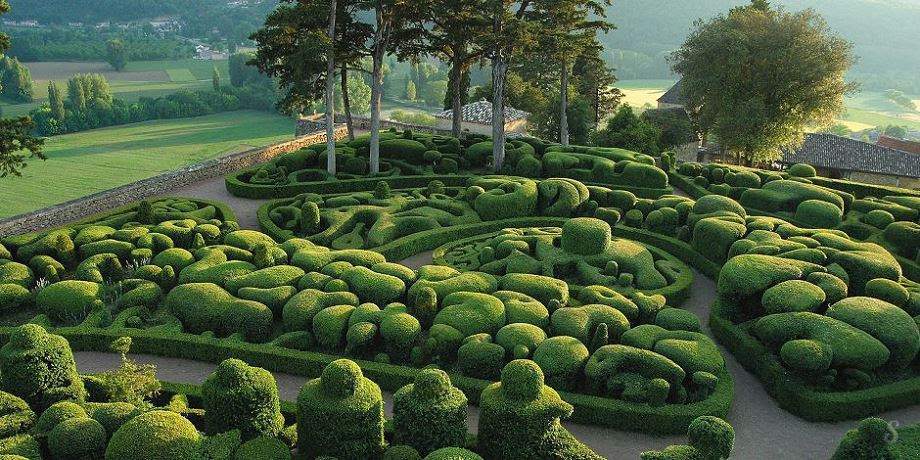 vaca, The Gardens of Marqueyssac - France