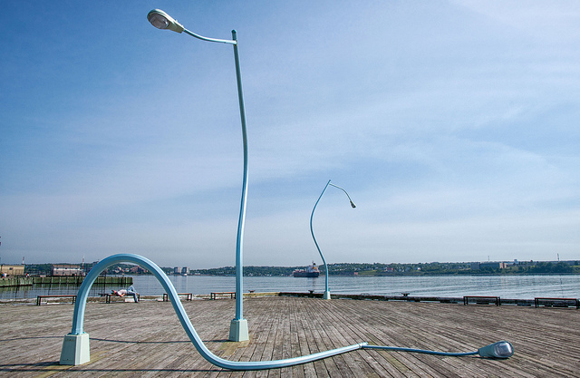 Halifax waterfront by Dean Bouchard on flickr